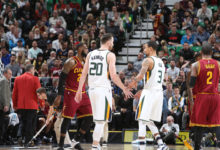 Jazz Stun The Cavaliers In Win; 100-92