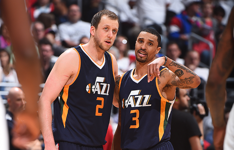 Harry How via utahjazz.com