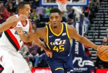 Jazz Overwhelm Blazers in OT, 112 – 103