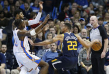 Road-weary Jazz Overwhelmed by Thunder from Opening Tip