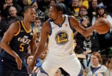 Warriors's Huge Second Half Downs Utah 101 -126