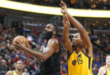 Jazz Comeback Falls Short in 101 – 112 Loss to Rockets