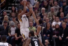 Hood's Hot Fourth Quarter Spurs Jazz Past San Antonio