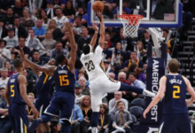 Pels-Jazz Notebook: Johnson's Strong Game Can't Save Jazz from Monster Duo