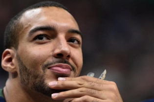No Laughing Matter: Gobert Putting His Stamp on Jazz-Thunder Series