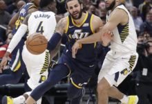 Jazz Blow Out Pacers for 9th Straight Road Win