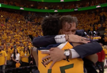 Mitchell Heeds His Coach's Urging, Lifts Jazz to Round 2 with 38