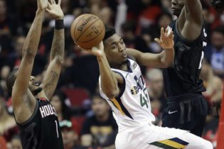 Mitchell Goes Off then Goes Down as Jazz Lose Series to Houston