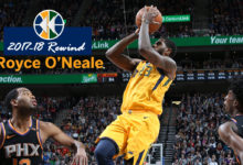 2017-18 Rewind: Royce O'Neale Seizes the Moment