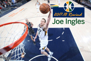 2017-18 Rewind: In His Best Year Yet, Joe Ingles Delivers Service, Toughness, Triples